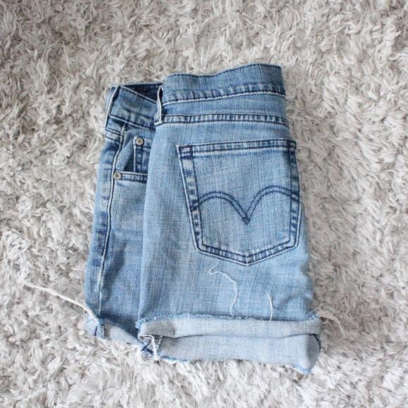 Levi's Pants - Levi Cutoff Jean Shorts
